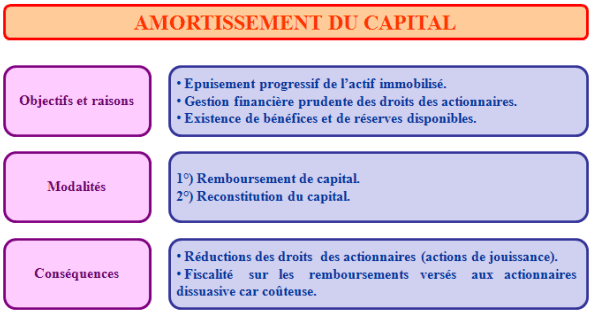 amortissement du capital