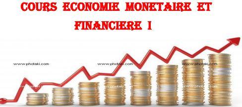 économie monétaire et financière