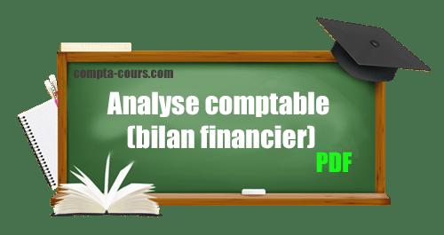 analyse comptable (bilan financier)