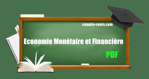 cours économie monétaire et financière